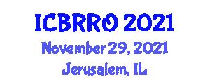 International Conference on Breast Radiology and Radiation Oncology (ICBRRO) November 29, 2021 - Jerusalem, Israel