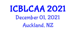 International Conference on Building Life Cycle Assessment and Analysis (ICBLCAA) December 01, 2021 - Auckland, New Zealand