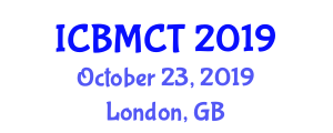 International Conference on Building Materials and Construction Technologies (ICBMCT) October 23, 2019 - London, United Kingdom