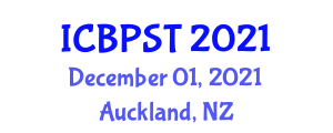 International Conference on Building Planning Software and Technology (ICBPST) December 01, 2021 - Auckland, New Zealand