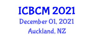 International Conference on Bulk Chemistry and Mineralogy (ICBCM) December 01, 2021 - Auckland, New Zealand