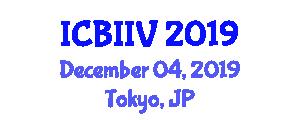 International Conference on Business Intelligence and Information Visualization (ICBIIV) December 04, 2019 - Tokyo, Japan