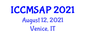 International Conference on Cancer Management in Small Animal Practice (ICCMSAP) August 12, 2021 - Venice, Italy