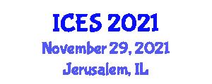 International Conference on Capitalist Economic System (ICES) November 29, 2021 - Jerusalem, Israel