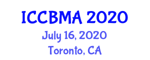 International Conference on Carbon Based Materials and Alloys (ICCBMA) July 16, 2020 - Toronto, Canada