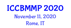 International Conference on Carbon Based Materials and Material Processing (ICCBMMP) November 11, 2020 - Rome, Italy