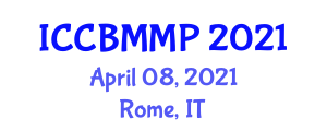 International Conference on Carbon Based Materials and Material Processing (ICCBMMP) April 08, 2021 - Rome, Italy