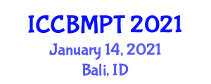 International Conference on Carbon Based Materials and Processing Technology (ICCBMPT) January 14, 2021 - Bali, Indonesia