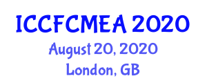 International Conference on Carbon Fiber Composite Materials for Engineering Applications (ICCFCMEA) August 20, 2020 - London, United Kingdom