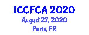 International Conference on Carbon Fiber Composites and Applications (ICCFCA) August 27, 2020 - Paris, France