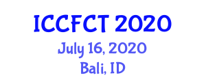 International Conference on Carbon Fiber Composites and Technologies (ICCFCT) July 16, 2020 - Bali, Indonesia