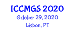 International Conference on Carbon Materials and Geological Sciences (ICCMGS) October 29, 2020 - Lisbon, Portugal