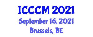 International Conference on Cardiology and Cardiovascular Medicine (ICCCM) September 16, 2021 - Brussels, Belgium