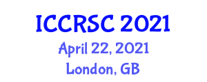 International Conference on Cellular Robotic Systems and Cooperation (ICCRSC) April 22, 2021 - London, United Kingdom