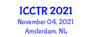 International Conference on Challenges in Terrorist Rehabilitation (ICCTR) November 04, 2021 - Amsterdam, Netherlands