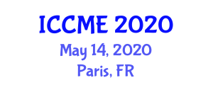 International Conference on Chemical Metallurgy and Electrochemistry (ICCME) May 14, 2020 - Paris, France
