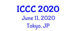International Conference on Chemistry and Computers (ICCC) June 11, 2020 - Tokyo, Japan