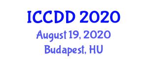 International Conference on Chemistry and Drug Discovery (ICCDD) August 19, 2020 - Budapest, Hungary