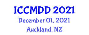 International Conference on Chemistry of Macrocycles and Drug Development (ICCMDD) December 01, 2021 - Auckland, New Zealand