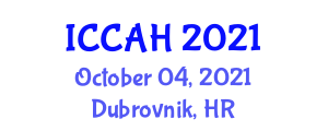 International Conference on Chinese Architecture and Heritage (ICCAH) October 04, 2021 - Dubrovnik, Croatia
