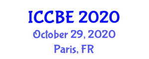 International Conference on Civil and Building Engineering (ICCBE) October 29, 2020 - Paris, France