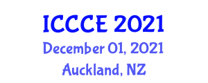 International Conference on Civil and Construction Engineering (ICCCE) December 01, 2021 - Auckland, New Zealand