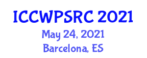 International Conference on Civil Wars, Political, Social and Religious Conflicts (ICCWPSRC) May 24, 2021 - Barcelona, Spain