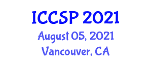 International Conference on Clinical and Social Psychology (ICCSP) August 05, 2021 - Vancouver, Canada
