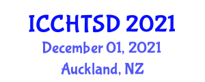 International Conference on Clinical Healthcare Technology, Simulation and Design (ICCHTSD) December 01, 2021 - Auckland, New Zealand