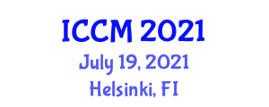 International Conference on Clinical Microbiology (ICCM) July 19, 2021 - Helsinki, Finland