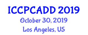International Conference on Clinical Pharmacy and Computer Aided Drug Design (ICCPCADD) October 30, 2019 - Los Angeles, United States
