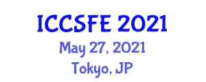 International Conference on Clothing Sustainability and Fiber Engineering (ICCSFE) May 27, 2021 - Tokyo, Japan