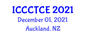 International Conference on Cloud Computing Technology and Computer Engineering (ICCCTCE) December 01, 2021 - Auckland, New Zealand