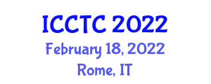 International Conference on Coding Theory and Cryptology (ICCTC) February 18, 2022 - Rome, Italy
