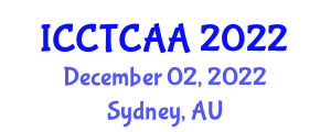 International Conference on Coding Theory, Cryptology and Advanced Applications (ICCTCAA) December 02, 2022 - Sydney, Australia