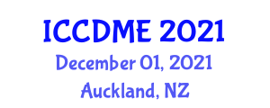 International Conference on Cognitive Disorders and Management of Epilepsy (ICCDME) December 01, 2021 - Auckland, New Zealand