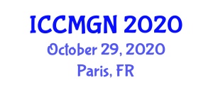 International Conference on Collaborative Mapping and Geosocial Networking (ICCMGN) October 29, 2020 - Paris, France