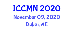 International Conference on Collaborative Mapping and Neogeography (ICCMN) November 09, 2020 - Dubai, United Arab Emirates