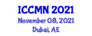 International Conference on Collaborative Mapping and Neogeography (ICCMN) November 08, 2021 - Dubai, United Arab Emirates
