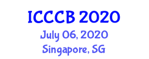 International Conference on Combinatorial Chemistry and Biology (ICCCB) July 06, 2020 - Singapore, Singapore