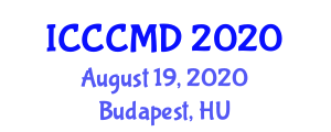 International Conference on Combinatorial Chemistry and Molecular Design (ICCCMD) August 19, 2020 - Budapest, Hungary