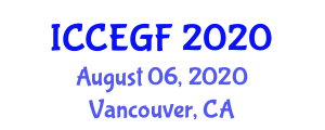 International Conference on Commercial and Experimental Glass Fibers (ICCEGF) August 06, 2020 - Vancouver, Canada