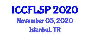 International Conference on Commercial Food Logistics, Storage and Preservation (ICCFLSP) November 05, 2020 - Istanbul, Turkey