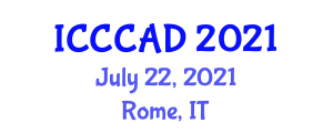 International Conference on Common Companion Animal Diseases (ICCCAD) July 22, 2021 - Rome, Italy