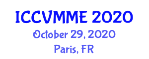International Conference on Communication in Veterinary Medicine and Medical Education (ICCVMME) October 29, 2020 - Paris, France
