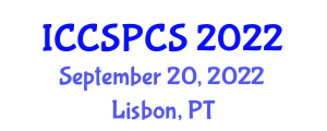 International Conference on Complex Systems, Programming and Computer Security (ICCSPCS) September 20, 2022 - Lisbon, Portugal