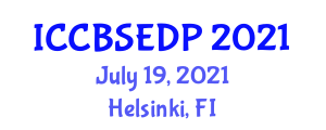 International Conference on Component-Based Software Engineering and Development Process (ICCBSEDP) July 19, 2021 - Helsinki, Finland