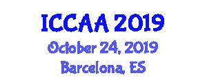 International Conference on Computational Aerodynamics and Aeromechanics (ICCAA) October 24, 2019 - Barcelona, Spain