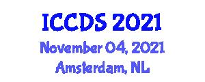 International Conference on Computational Data Science (ICCDS) November 04, 2021 - Amsterdam, Netherlands