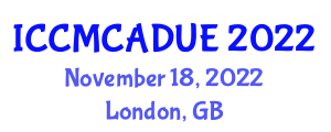 International Conference on Computational Methods and Computer-Aided Design in Urban Engineering (ICCMCADUE) November 18, 2022 - London, United Kingdom